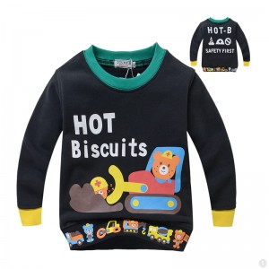 Hot Biscuits Beertjes Jongens Sweater - zwart