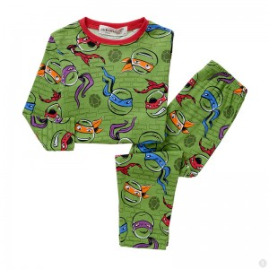 Teenage Mutant Ninja Turtles Jongens Pyjama - groen
