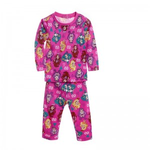 Ever After High Meisjes Pyjama - roze (fuchsia)